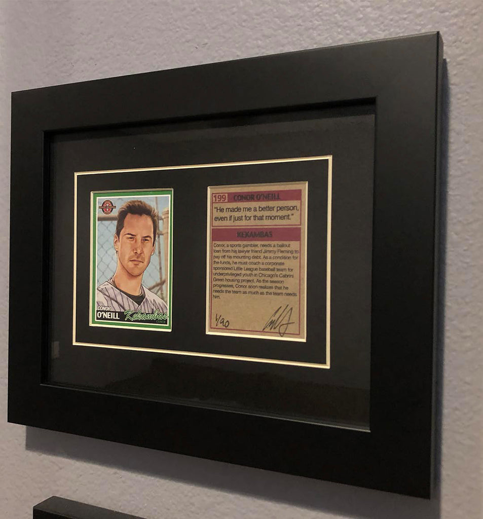 "Cuyler Smith ""199 - Conor O'Neill"" Framed Trading Card Set"