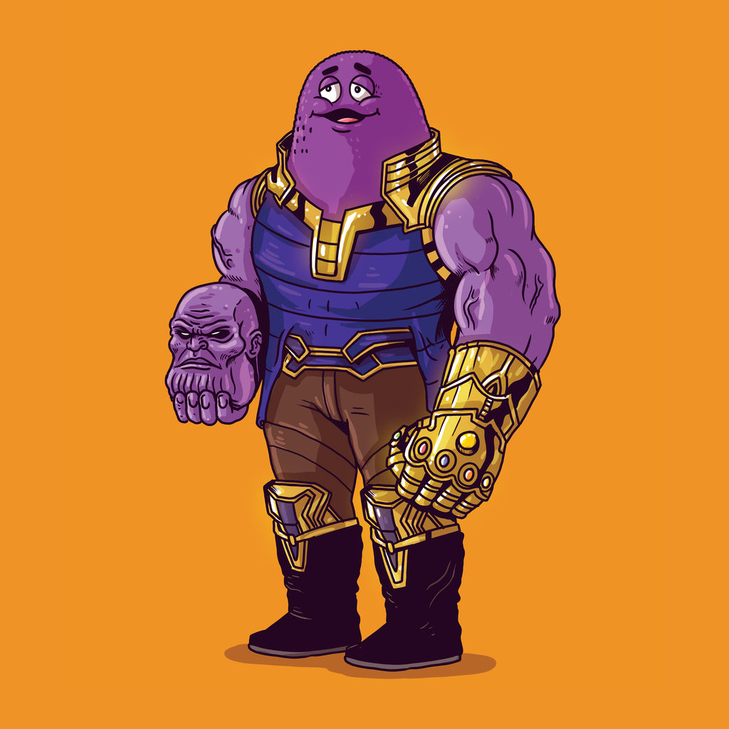 "Alex Solis ""Thanos Unmasked"" Print"