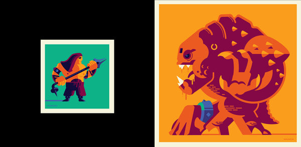 "Tom Whalen ""They will all suffer for this outrage."" Print Set"