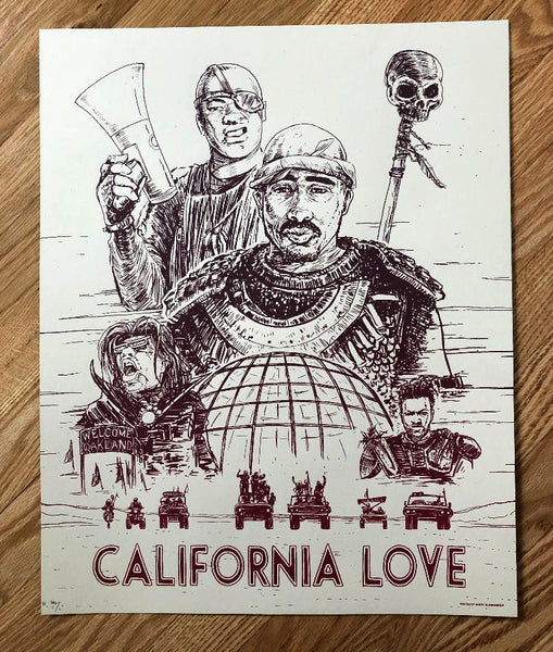 "Barry Blankenship ""California Love"" Print (Variant)"