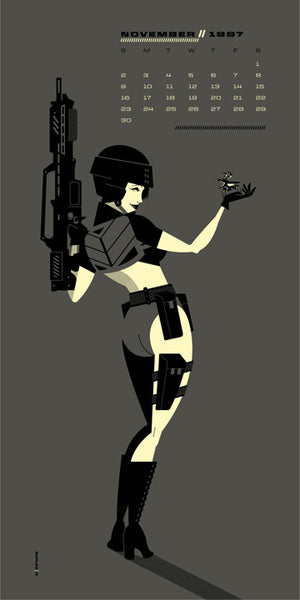 "Tom Whalen ""Verhoeven Girls : Nov. '97"" Print"