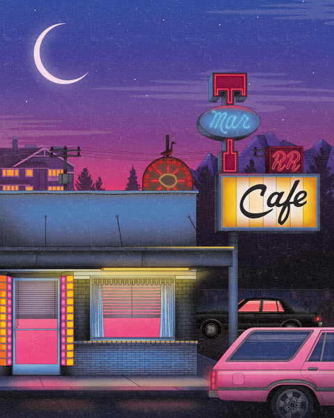 "Zita Walker ""Double R Diner"" Print"
