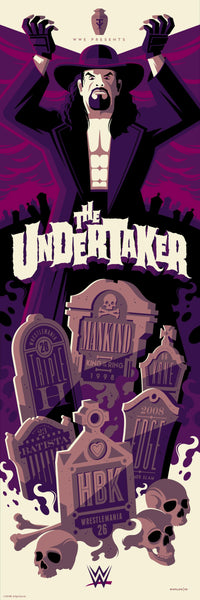 "Tom Whalen ""The Undertaker"" Print"