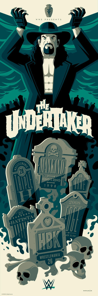 "Tom Whalen ""The Undertaker (VARIANT)"" Print"