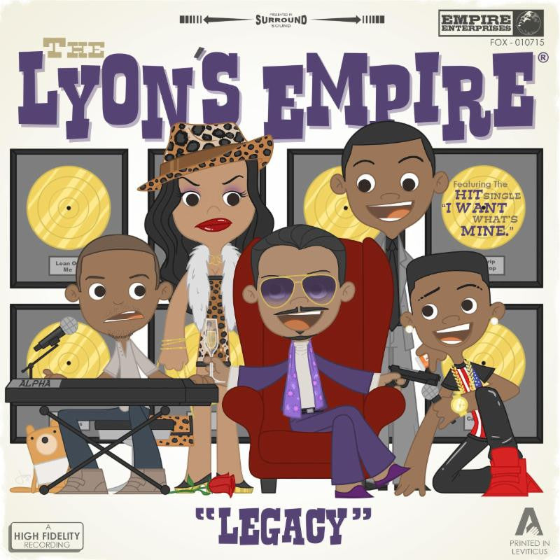 "Joey Spiotto ""The Lyon's Empire"" Print"