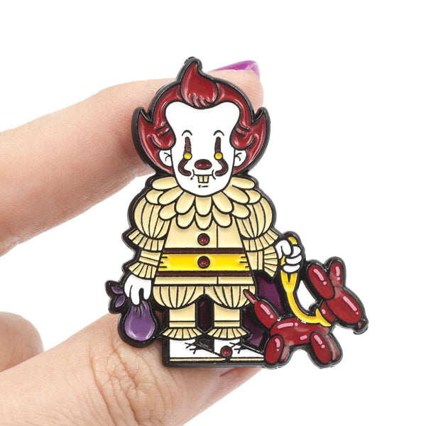 "Little Shop of Pins ""We All Poop Down Here"" Pin"