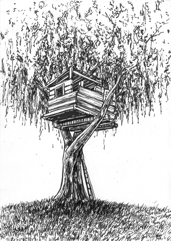 "Barry Blankenship ""Willow Tree House"""