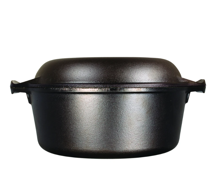 Lodge cast iron. Double Dutch oven