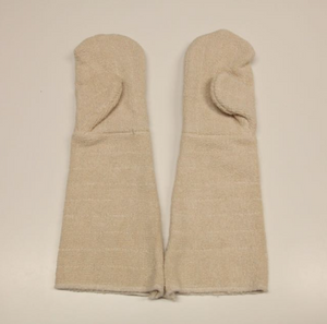 COMMERCIAL GRADE NATURAL FIBRE BAKERS OVEN MITTS