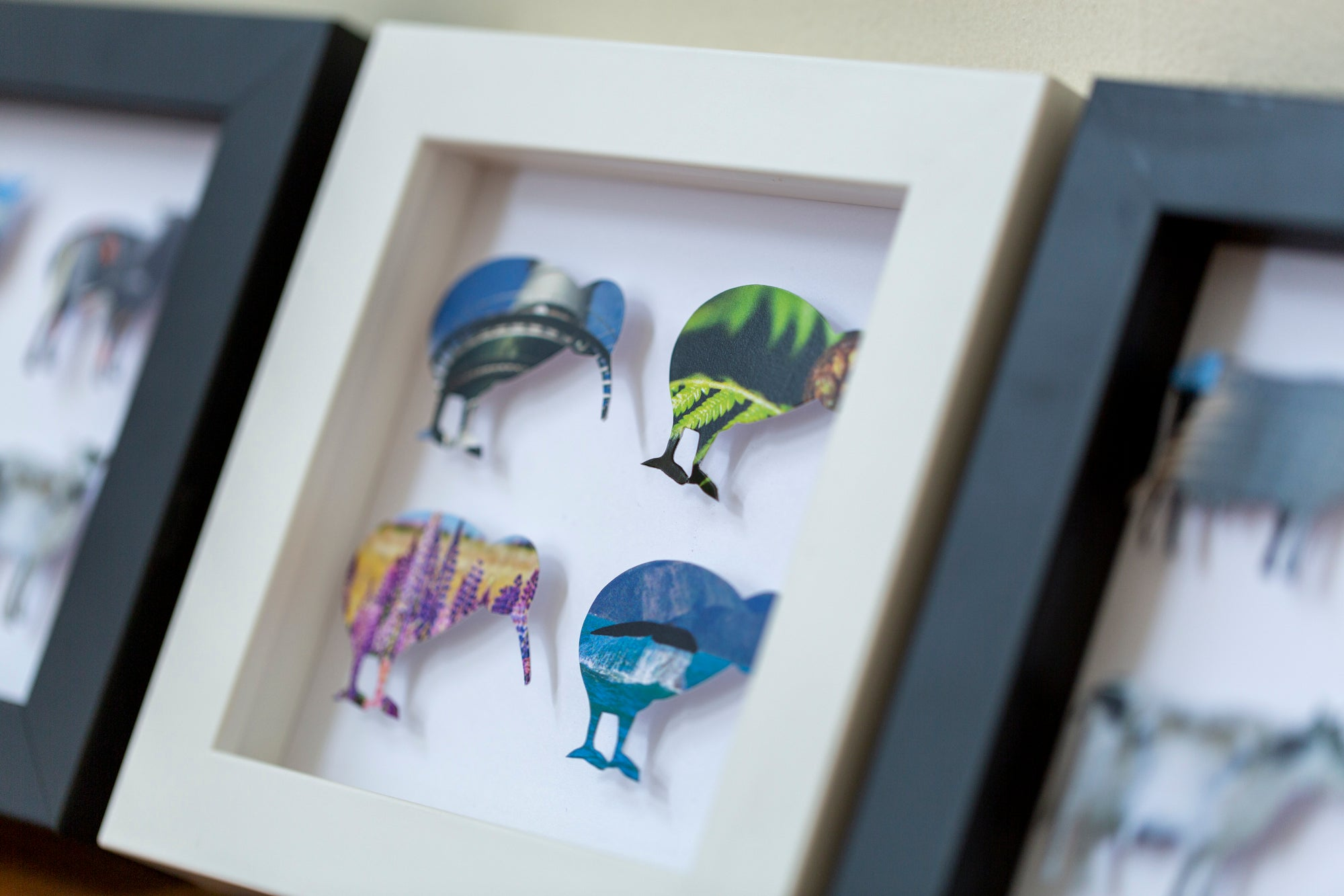 Flightless, Flock and Herd Series – Small set of 3