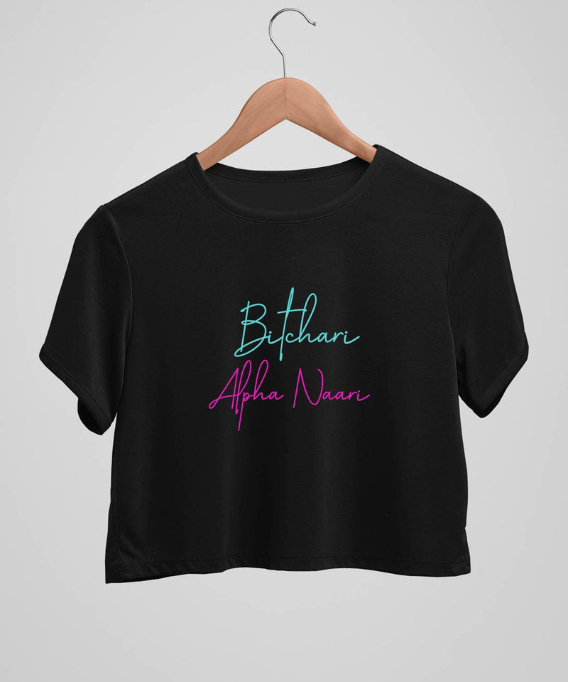 Bitchari Alpha Naari - Crop top - TheBTclub