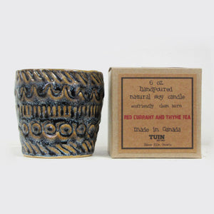 Tuin Red Currant & Thyme Tea Gift Candle
