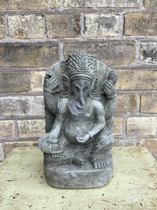 Ganesh Concrete Plaque