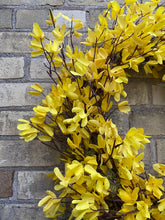 Load image into Gallery viewer, Forsythia Wreath