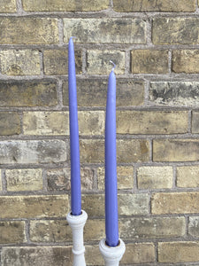 Lavender Taper Candle