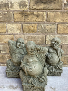 Three Evils Buddha Concrete Statues