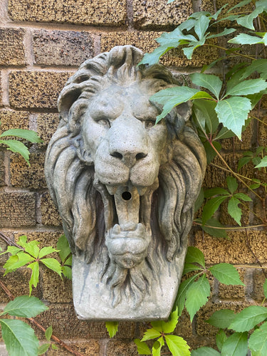 Leo the Lion Concrete Statue