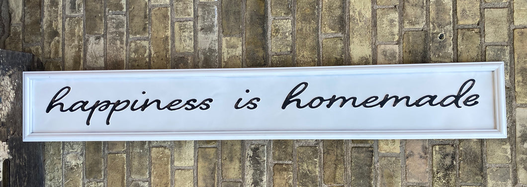 Happiness is Homemade Tin Sign