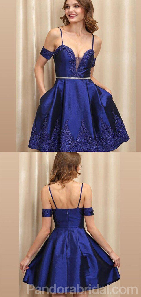 Alluring Homecoming Dresses With Embroidery, Homecoming Dresses, VB02484