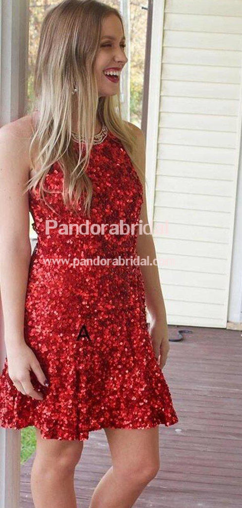 Shinny Mismatched Sequin Homecoming Dresses, 2019 Homecoming Dresses, VB02591