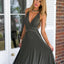 V-Neck A-Line Bridesmaid Dresses, PD01770