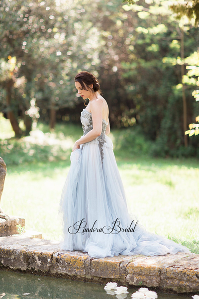 Gorgeous Sweetheart Beading Wedding Dresses, PD01754