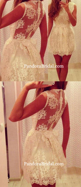 New Arrival lace simple elegant cute freshman graduation formal homecoming prom gown dresses, PD0041