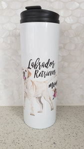 Yellow Labrador Mom Tumbler