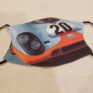 Race Car Mask
