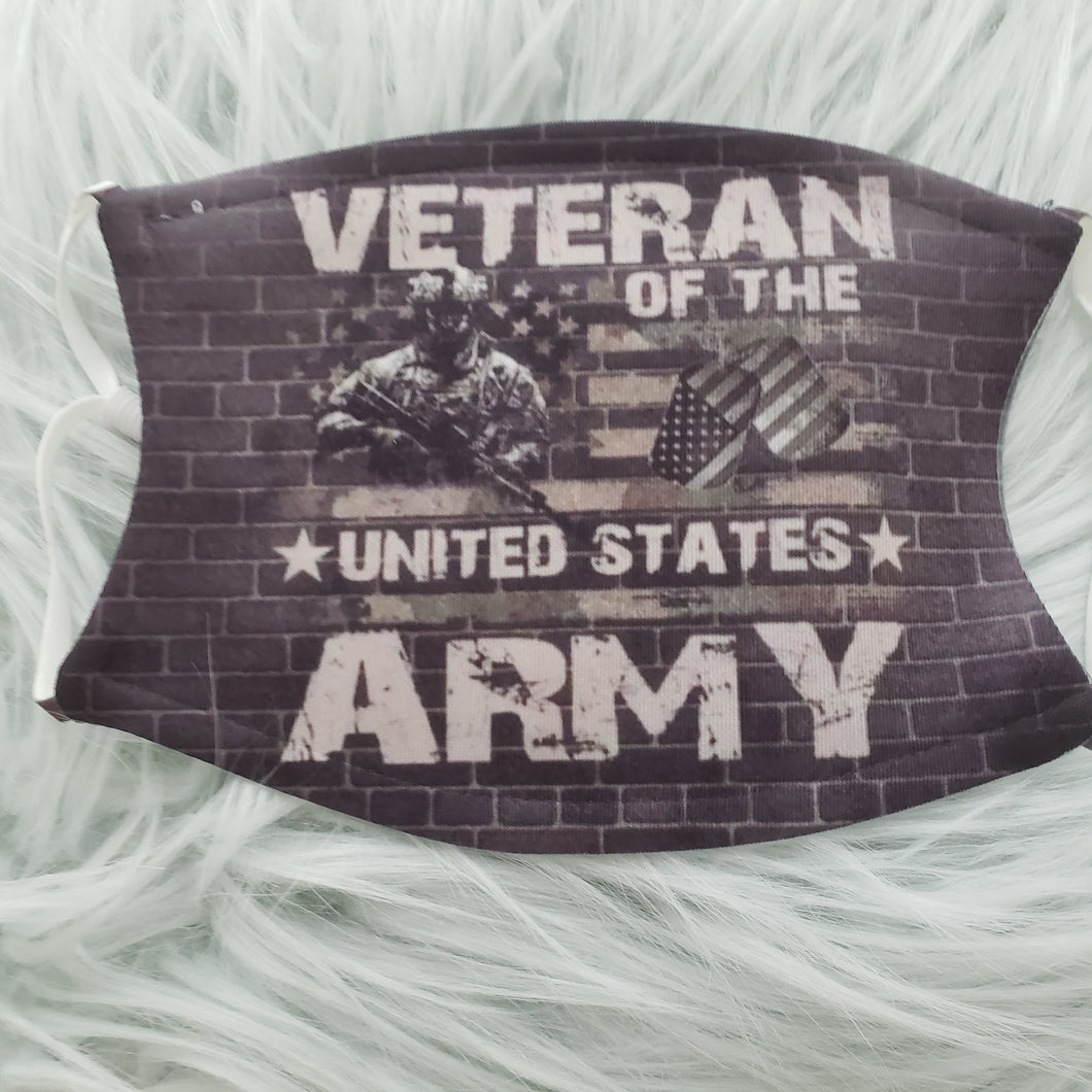 USA Army Veteran Mask