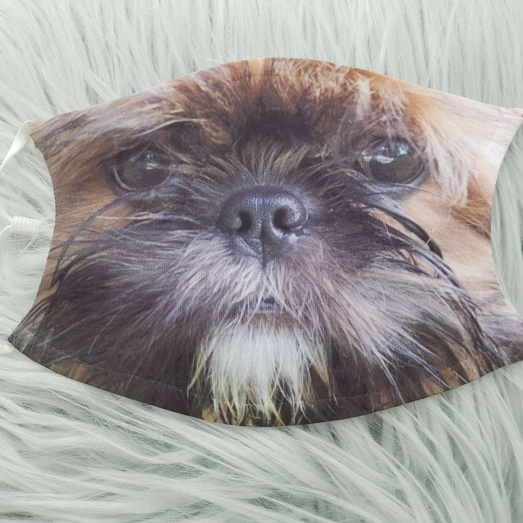 Shih Tzu Face Mask