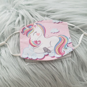 Unicorn in Clouds Mask