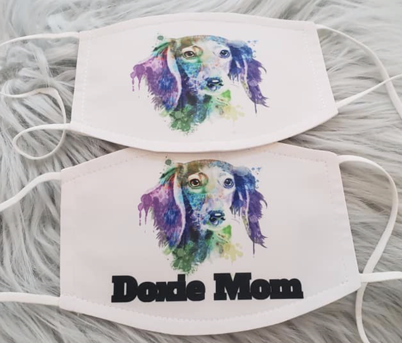 Doxie Mom Mask