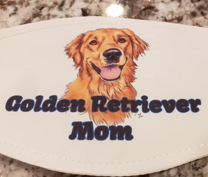 Golden Retriever Mom Mask