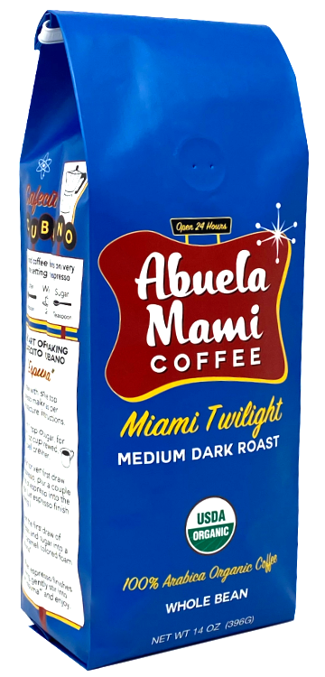 Abuela Mami Coffee Miami Twilight Organic Coffee