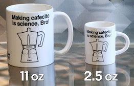 Cafecito is small but sometimes big science, Bro