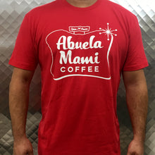 Load image into Gallery viewer, Classic Red Abuela Mami Coffee T-shirt