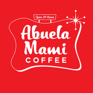 Classic Red Abuela Mami Coffee T-shirt