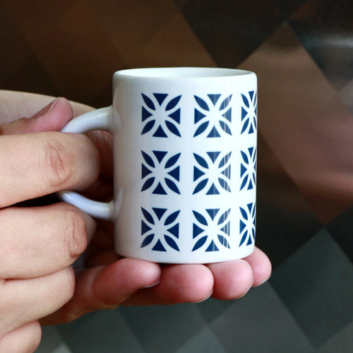 Miami Breeze Blocks - Espresso Cups