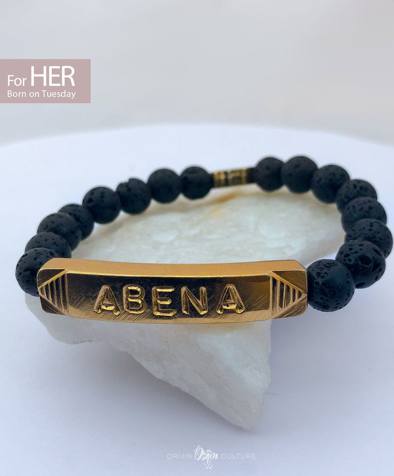 ABENA Identity Beads | For (HER) Born on Tuesday - by Orijin Culture