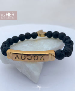 ADJOA Identity Beads | For (HER) Born on Monday - SHOP | Orijin Boutique