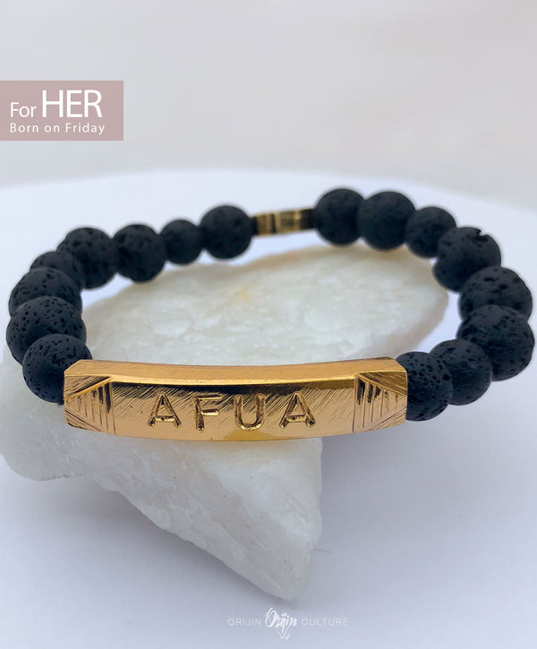 AFUA Identity Beads | For (HER) Born on Friday - by Orijin Culture