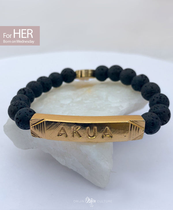 AKUA Identity Beads |  For (HER) Born on Wednesday - by Orijin Culture