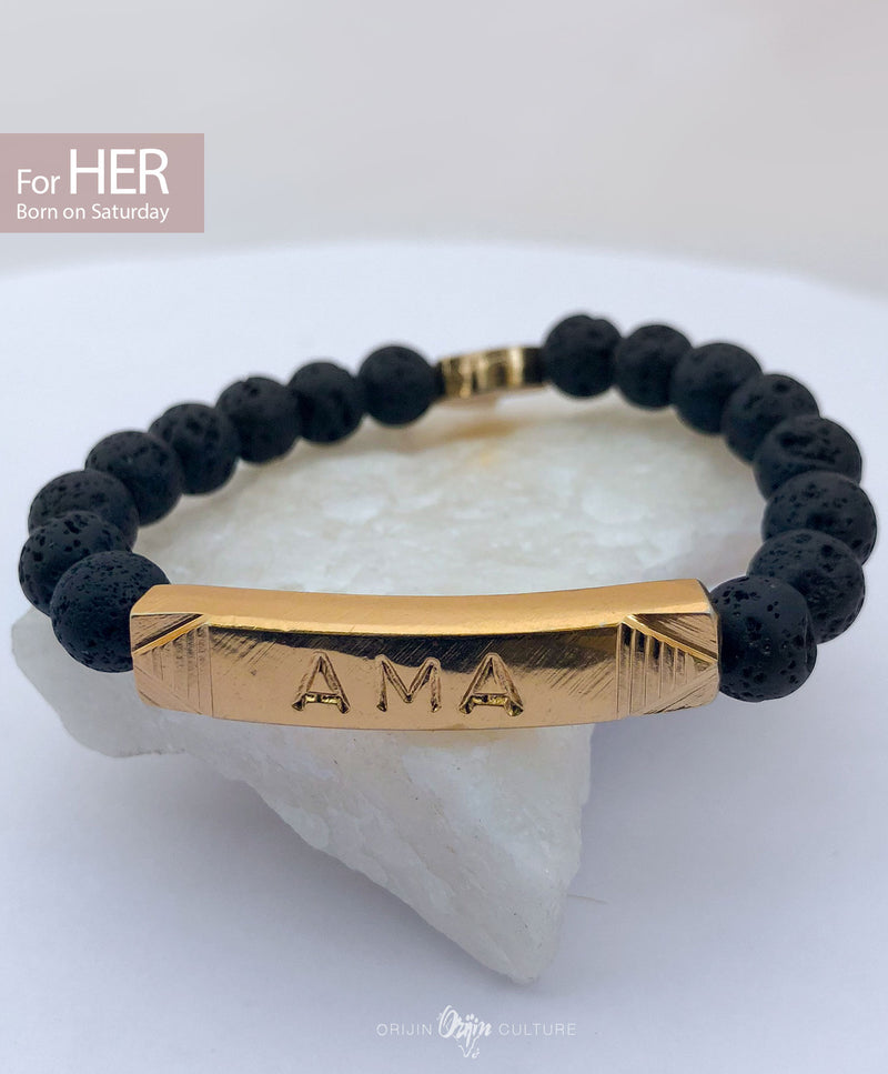 AMA Identity Beads | For (HER) Born on Saturday - by Orijin Culture