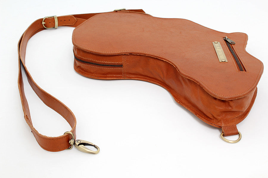 Alkebulan Bag | Brown .