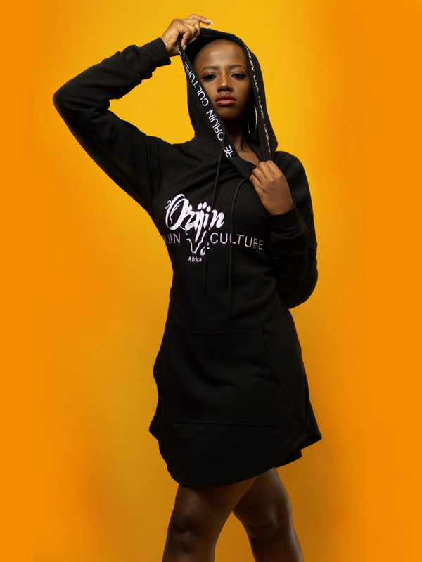 Orijin Culture™️ Classic Hoodies | Black-New! - by Orijin Culture