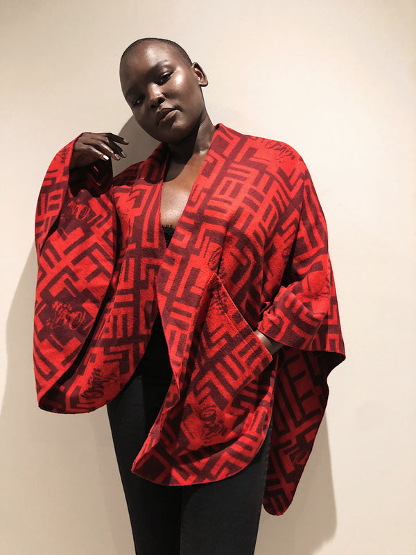 Orijin Africa Cloth | Maasai Red - SHOP | Orijin Culture