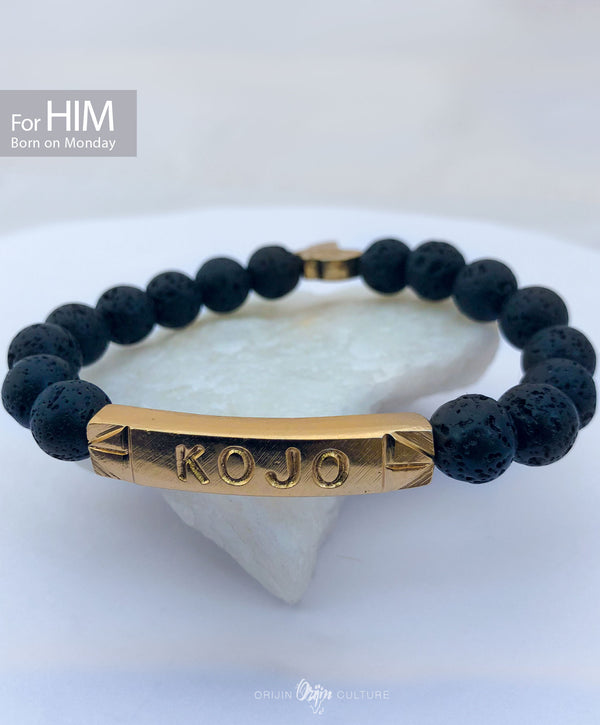 KOJO Beads Bracelet | Born on Monday (HIM) - by Orijin Culture