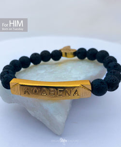 KWABENA Beads Bracelet | Born on Tuesday (HIM) - SHOP | Orijin Boutique