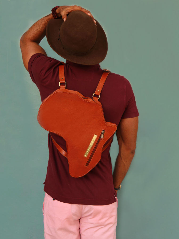Alkebulan Bag | Brown
